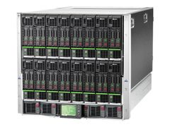 Hewlett Packard Enterprise HPE BLc7000 Single-Phase Enclosure w/6 Power Supplies and 10 Fans w/16 Insight Control Environment Licenses - Kan monteres i rack - 10U - for Integrity BL890c i2; ProLiant BL2x220c G7, BL460c G7, BL49
