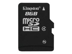 Kingston flashminnekort - 8 GB - microSDHC