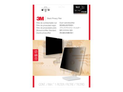 """3M personvernfilter for 18,5"""" widescreen - personvernfilter for skjerm - 18,5"""" bredde (PF18.5W)"""