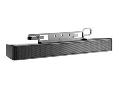 HP LCD Speaker Bar - Høyttaler - for HP 100; EliteDesk 705 G3; ProDesk 400 G4, 600 G3; ProOne 400 G3, 600 G3; Smart t410