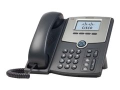 CISCO Small Business SPA 502G - VoIP-telefon - SIP, SIP v2, SPCP - enkeltlinje - sølv, mørk grå - for Small Business Pro Unified Communications 320 with 4 FXO