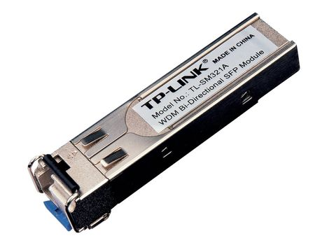TP-Link TL-SM321A - SFP (mini-GBIC) transceivermodul - GigE