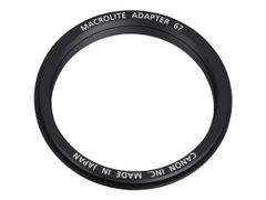 Canon Macrolite 67C - Adapterring for makroblits 67-mm gjenge - for MR-14EX, 14EX II, 14EX II Macro Ring Lite; MT-24EX