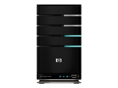 "Hewlett Packard Enterprise HPE StorageWorks Data Vault X510 - Server - tower - 1-veis - 1 x Pentium E5200 / 2.5 GHz - RAM 2 GB - SATA - hot-swap 3.5"" - HDD 1 TB - GigE - Windows Home Server - monitor: ingen (Q2050A#ABD)"