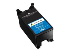 DELL Series 21 Single Use Color Cartridge - 1 - original - blekkpatron - for Dell V313w Printer Ink Value Bundle, V515w
