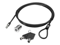 HP Docking Station Cable Lock - Sikkerhetskabellås - for EliteBook 735 G6, 745 G6, 830 G6, 840 G6, 850 G6; ProBook 640 G5, 650 G5; ZBook 15u G6