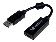 Sandberg video adapter - DisplayPort / HDMI