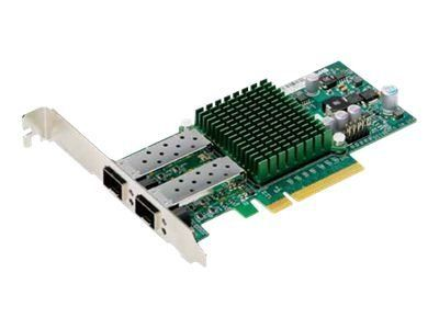 SUPERMICRO Add-on Card AOC-STGN-i2S - Nettverksadapter - PCIe 2.0 x8 lav profil - 10 GigE - 2 porter - for SuperServer 5086B-TRF (AOC-STGN-I2S)