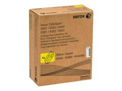 XEROX ColorQube 9201/9202/9203 - 4-pack - gul - original - faste blekktyper Sold - for ColorQube 9201, 9202, 9203, 9301, 9302, 9302/PM3XF, 9303, 9303_U