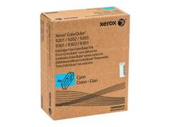 XEROX ColorQube 9201/9202/9203 - 4 - cyan - faste blekktyper - for ColorQube 9201, 9202, 9203, 9301, 9302, 9302/PM3XF, 9303, 9303_U