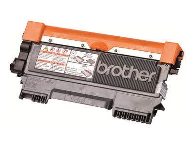 Brother TN-2220 - Svart - original - tonerpatron - for Brother DCP-7060, 7065, 7070, HL-2220, 2240, 2250, 2270, MFC-7360, 7460, 7860; FAX-2840 (TN2220)
