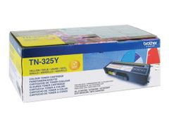 Brother TN-325Y - Gul - original - tonerpatron - for Brother DCP-9055, DCP-9270, HL-4140, HL-4150, HL-4570, MFC-9460, MFC-9465, MFC-9970