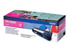 Brother TN328M - Magenta - original - tonerpatron - for Brother DCP-9270CDN, HL-4570CDW, HL-4570CDWT, MFC-9970CDW