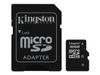 Kingston Flashminnekort (microSDHC til SD-adapter inkludert) - 32 GB - Class 4 - microSDHC (SDC4/32GB)