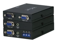 ATEN VanCryst VE170 Cat 5 Audio/Video Extender Transmitter and Receiver Units - video/lyd-forlenger