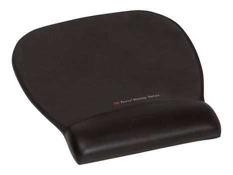 3M Precise Mousing Surface with Gel Wrist Rest MW311LE - musematte med håndleddsstøtte (FT510112343)