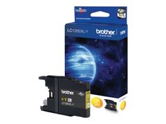 Brother LC-1280XLY - Gul - original - blekkpatron - for Brother MFC-J5910DW, MFC-J6510DW, MFC-J6710DW, MFC-J6910DW