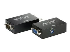 ATEN VanCryst VE022 Mini Cat 5 A/V Extender (Transmitter and Receiver units) - video/lyd-forlenger