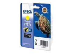 Epson T1574 - 25.9 ml - gul - original - blister - blekkpatron - for Stylus Photo R3000