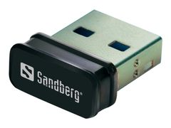 Sandberg Micro WiFi USB Dongle - Nettverksadapter - USB 2.0 - 802.11b/ g/ n