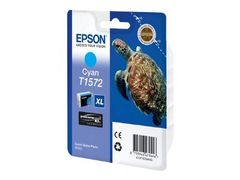 Epson T1572 - 25.9 ml - cyan - original - blister - blekkpatron - for Stylus Photo R3000