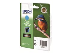 Epson T1592 - 17 ml - cyan - original - blister - blekkpatron - for Stylus Photo R2000