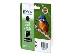 Epson T1591 - 17 ml - fotosort - original - blister - blekkpatron - for Stylus Photo R2000