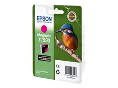 Epson T1593 - 17 ml - magenta - original - blister - blekkpatron - for Stylus Photo R2000