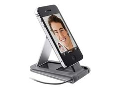 Belkin Mini Dock - Dokkestasjon - for Apple iPhone 3GS, 4; iPod classic; iPod nano (5G, 6G); iPod touch (4G)