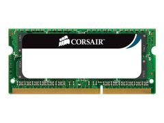 Corsair Mac Memory - DDR3 - 8 GB: 2 x 4 GB - SO DIMM 204-pin - 1066 MHz / PC3-8500 - CL7 - 1.5 V - ikke-bufret - ikke-ECC - for Apple iMac; Mac mini; MacBook; MacBook Pro