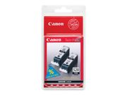 Canon PGI-520BK Twin Pack - 2-pack - 19 ml - svart - original - blekkbeholder - for PIXMA iP3600, iP4700, MP540, MP550, MP560, MP620, MP630, MP640, MP980, MP990, MX860, MX870 (2932B012)