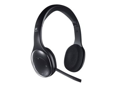 Logitech Wireless Headset H800 - Hodesett - on-ear - 2,4 GHz - trådløs (981-000338)