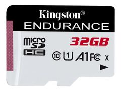 Kingston High Endurance - Flashminnekort - 32 GB - A1 / UHS-I U1 / Class10 - microSDHC UHS-I