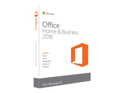 Microsoft Office Home and Business 2016 - Lisens - 1 PC - ESD - Win - All Languages (T5D-02316)