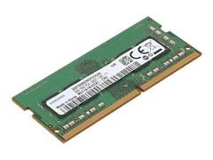 Lenovo DDR4 - 8 GB - SO DIMM 260-pin - 2400 MHz / PC4-19200 - 1.2 V - ikke-bufret - ikke-ECC - for ThinkCentre M910; ThinkPad E48X; E58X; L380; L380 Yoga; P52s; T480; T580; V330-14; V330-15