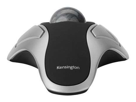 Kensington Orbit Optical Trackball - styrekule - USB - sølv (64327EU)