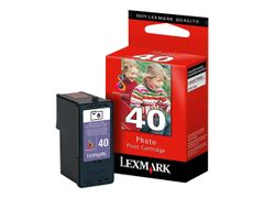 LEXMARK Cartridge No. 40 - 1 - original - skriverpatron (foto) - for Lexmark X4850, X4875, X4950, X4975, X6570, X6575, X7550, X7675, X9350, X9575, Z1520