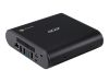 Acer Chromebox CXI3 - Mini-PC - 1 x Core i3 8130U / 2.2 GHz - RAM 4 GB - SSD 64 GB - UHD Graphics 620 - GigE - WLAN: 802.11a/ b/ g/ n/ ac,  Bluetooth 4.2 - Chrome OS - monitor: ingen (DT.Z0UMD.002)