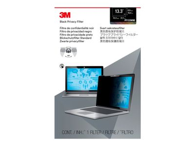 "3M personvernfilter for Edge-to-Edge 13.3"" Full Screen Laptop with COMPLY Attachment System notebookpersonvernsfilter (PF133W9E)"