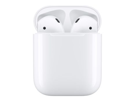 Apple AirPods with Charging Case - 2nd Generation - ekte trådløse øretelefoner med mikrofon - ørepropp - Bluetooth - for iPhone 11