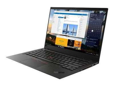 "Lenovo ThinkPad X1 Carbon (6th Gen) 20KH - Ultrabook - Core i7 8550U / 1.8 GHz - Win 10 Pro 64-bit - 16 GB RAM - 1 TB SSD TCG Opal Encryption 2, NVMe - 14"" IPS 1920 x 1080 (Full HD) - UHD Graphics 620 - Wi-F (20KH007JMX)"
