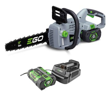 "EGO Power+ Motorsag m/batteri og lader 35cm/14"" (CS1401E)"