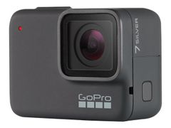 GoPro HERO7 Silver - Actionkamera - monterbar - 4K / 30 fps - 10.0 MP - under vannet inntil 10 m