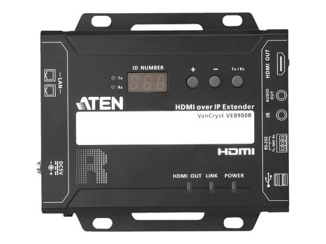 ATEN VanCryst VE8900R HDMI over IP Receiver - video/ lyd-forlenger - HDMI (VE8900R-AT-G)