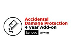 Lenovo Accidental Damage Protection Add On - Dekning for tilfeldig skade - 4 år - for ThinkPad A285; A485; L380; L380 Yoga; L390; L390 Yoga; L490; L580; L590; T49X; T590; X39X