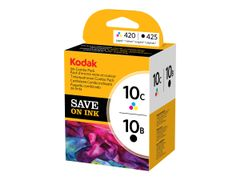 KODAK Ink Combo Pack - Svart, multifarge - original - blekkpatron - for ESP 3250, 5, 5250, 7, 7250, 9, Office 6150; HERO 6.1, 7.1, 9.1; OFFICE HERO 6.1