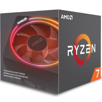 AMD Ryzen 7 3700X 3.6GHz-4.4GHz 8 kjerner, 16 tråder, AM4, PCIe 4.0, 32MB cache, 65W, boxed (100-100000071BOX)