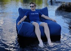 Luckysac Lounge Chair - Navy