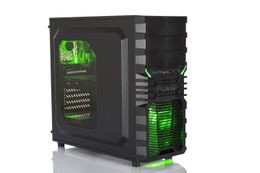 Multicom Tycho A516R Gaming PC AMD Ryzen 5 2600, 8GB, 240GB SSD, 1TB HDD, GeForce GTX 1650 4GB, 450W, Uten operativsystem