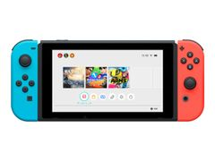 Nintendo Switch with Neon Blue and Neon Red Joy-Con - Spillkonsoll - svart, neonrød, neonblå